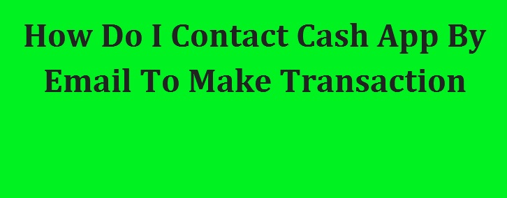 Cash App Email Address