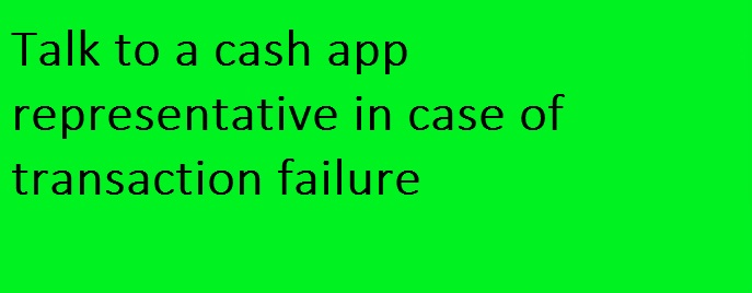 talk to a cash app representative