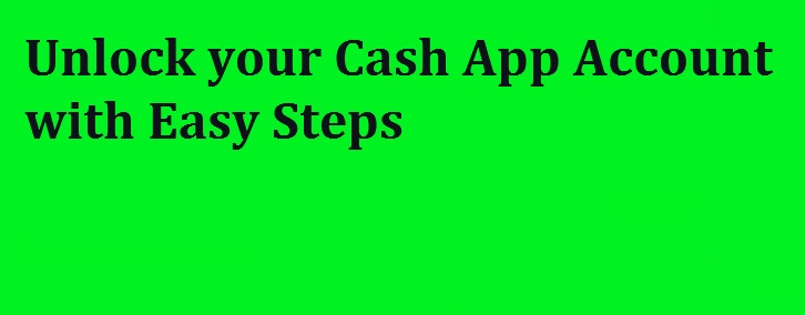 cash app unlock account